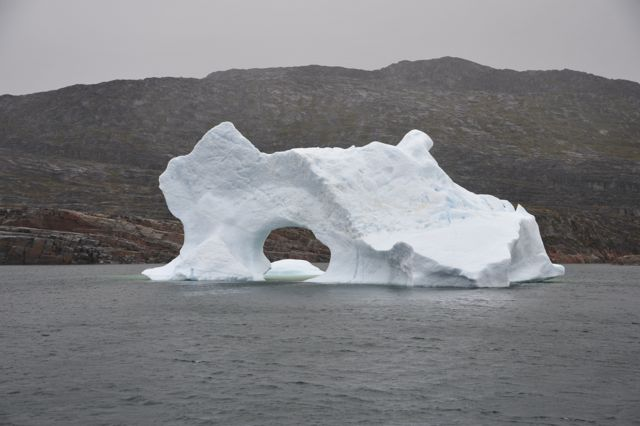 The perfect berg for a photo shoot (photo by Steve D'Antonio)