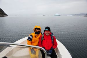 Off to Ilulissat by tender (Photo by Steve D'Antonio)