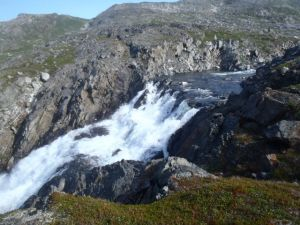 Waterfall at Torngat