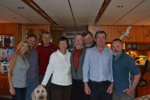With the Novara crew in Labrador