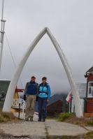 Whalebone arch inSisimiut
