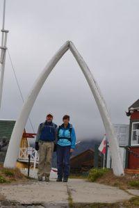 Whalebone arch in Sisimiut