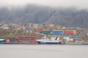 Beautiful colors of Sisimiut
