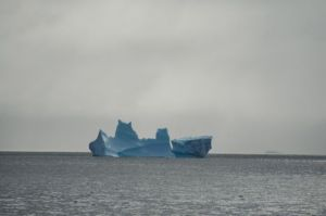 Actually two separate bergs