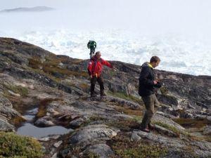 Google guy at Ilulissat Isjfjord