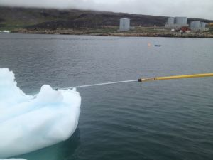 Using the ice pole
