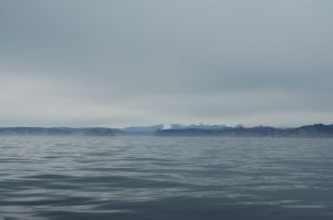 First view of Baffin Island