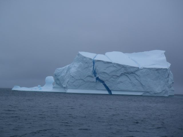 Still seeing some icebergs on the crossing