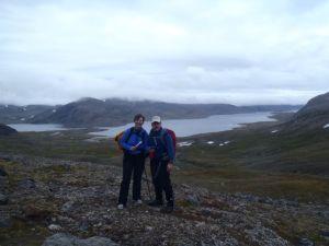 Hiking in Polar Bear country