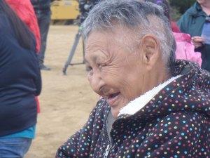 Inuit woman in Nain