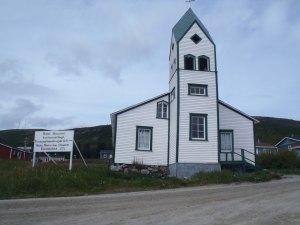 Moravian church in Nain