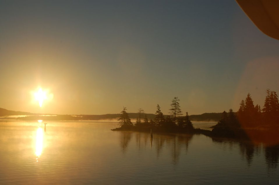 Sunrise at St Peters, Nova Scotia