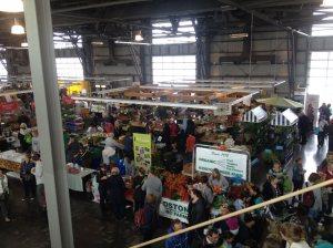 The Saturday market in Halifax