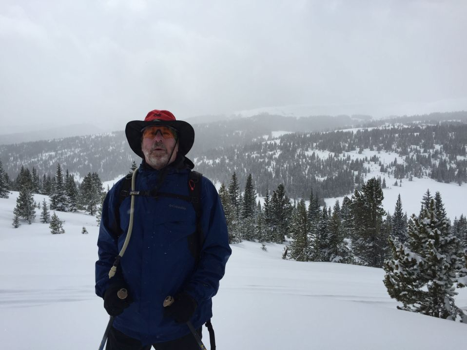 Snowshoeing near Copper Mountain