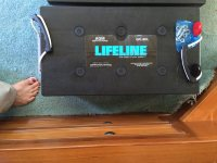 Lifeline AGM Deep Cycle Marine Battery