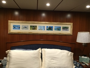 New photo art in Master Cabin