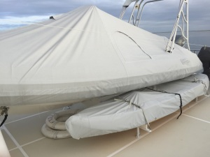 Tender and Kayak covers made last year by Crystal Coast Interiots