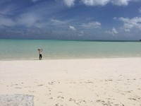 A beautiful (and nearly deserted) beach at SpanishWells