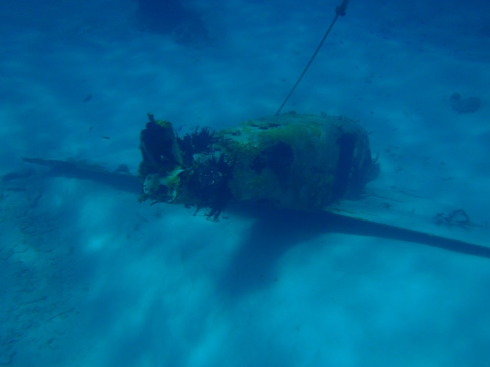 The underwater airplane