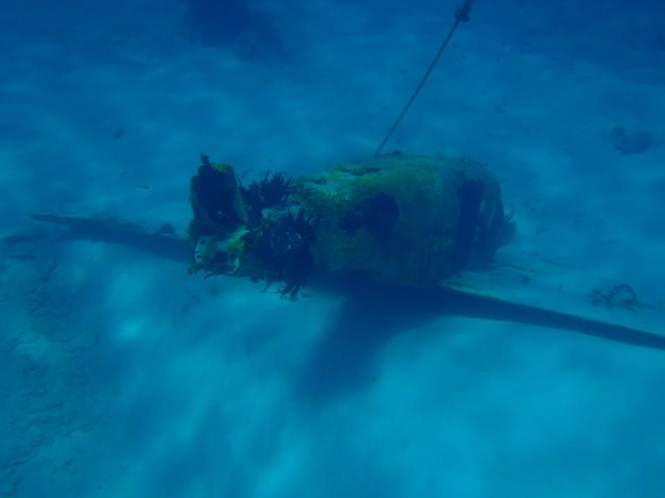 The underwater airplane