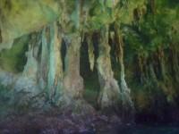 Inside the caves at RockyDundas