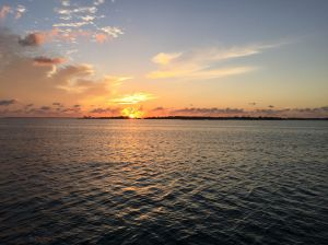 Sunset at Grand Cay