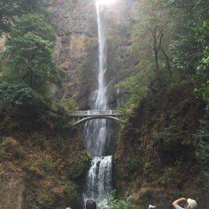 One of many beautiful waterfalls in Oregon