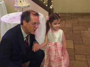 My brother Bob and his granddaughter Sophie