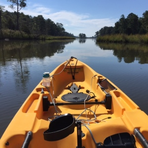 Kayaking on the Chester River