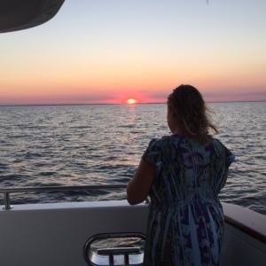 Mandy captures the sunset