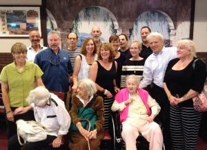 Rosenberg family luncheon