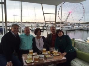 Bradley with Buddy, Catherine, Tom, and Martha