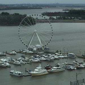 Shear Madness and the Capital Wheel