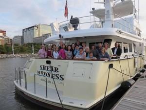 Thomas Addison Elementary Classmates aboard Shear Madness