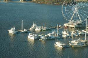 Three Nordhavns at National Harbor