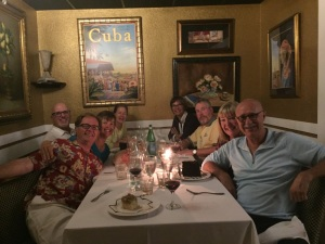Dinner with fellow Nordhavn owners in Ft. Lauderdale