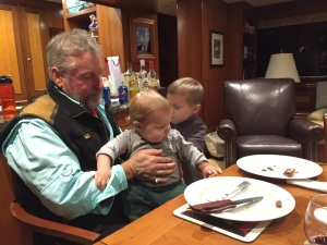 Grandpa with Austin and Tyler