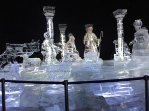Nativity scene at ICE!