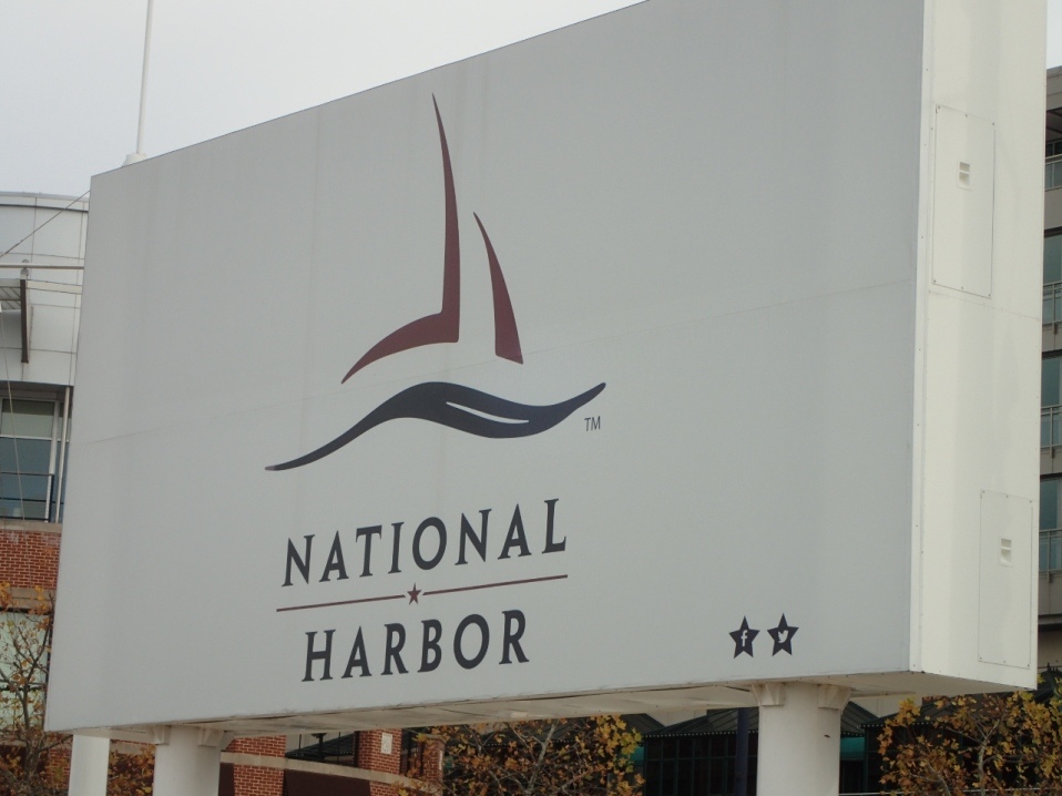 National Harbor has been a great place to hang out!