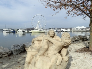 Camera Test - Statue, Shear Madness and Capital Wheel