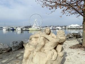 Camera Test - Statue, Shear Madness and Capital Wheel