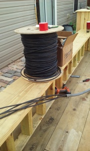 Wiring and other materials