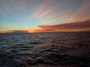 Sunrise near Cape Hatteras