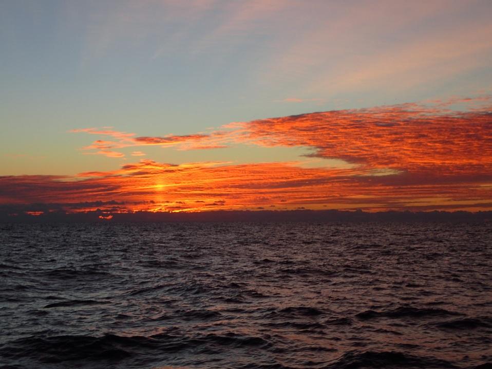 Sunrise near Cape Hatteras