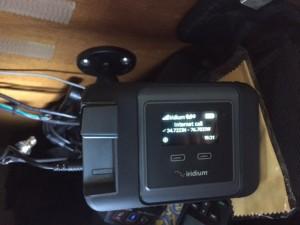 Our new Iridium GO! satellite communicator/tracker