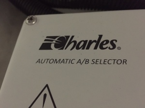 New Charles A/B Selector for shore power