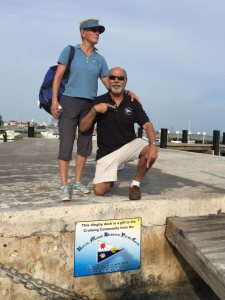 Ron and Wendy are members of the Royal Marsh Harbour Yacht Club,