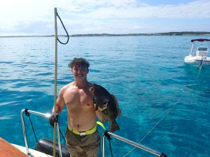 Austin masters spearfishing - a nice grouper!