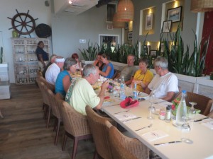 Lunch at Staniel Cay Yacht Club