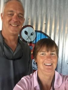 Kathy with Nordhavn Dreamer Joe